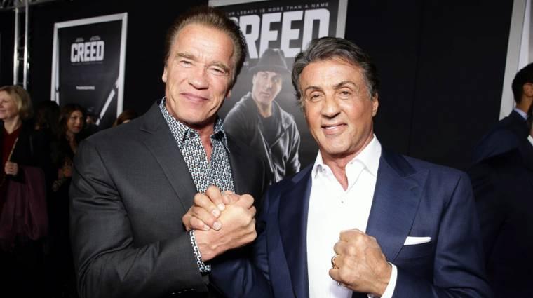 Senki nem tudja olyan kedvesen oltani Stallonét, mint Schwarzenegger bevezetőkép
