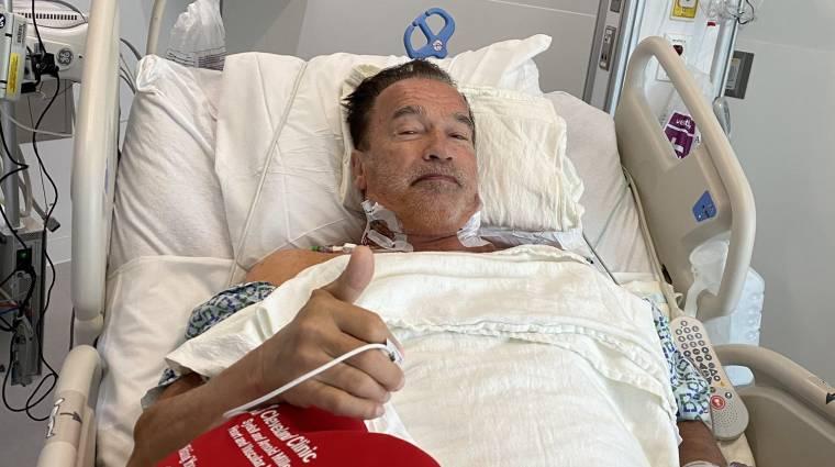 Arnold Schwarzenegger fontos szívműtéten esett át bevezetőkép