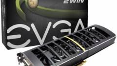 Két GPU-s GTX 460 az EVGA-tól kép