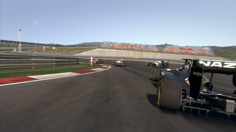 Az F1 2011 a konzolok határait feszegeti bevezetőkép