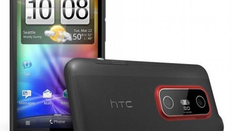 Itthon is kapható lesz a HTC Evo 3D kép