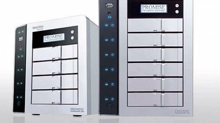 Thunderbolt kompatibilis a Promise SmartStor R4 és R6 kép