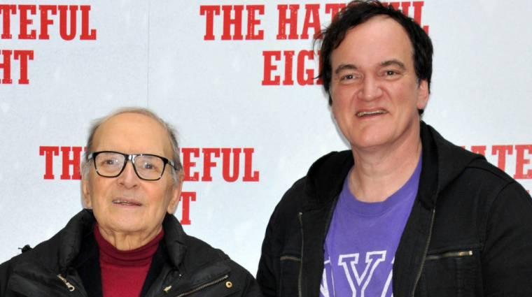Ennio Morricone Tarantino filmjeit ócsárolta? kép