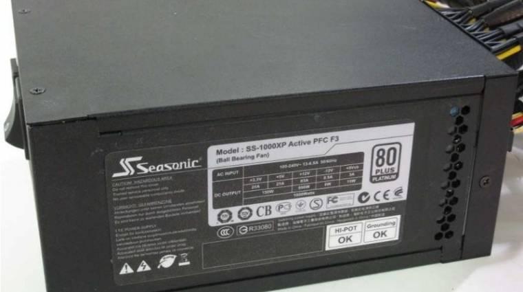 Seasonic tápok 80Plus Platinum minősítéssel kép