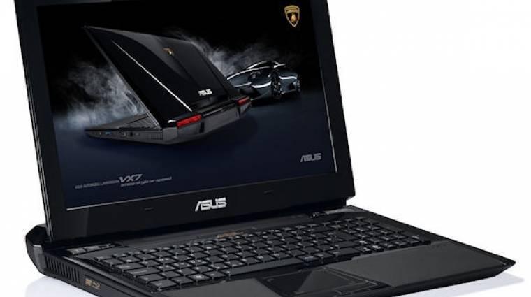 Itt a legújabb ASUS-Lamborghini laptop kép