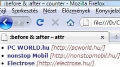 Weboldalkészítő suli #34 - Előtte-utána, avagy tartalom hozzáadása CSS-ből kép