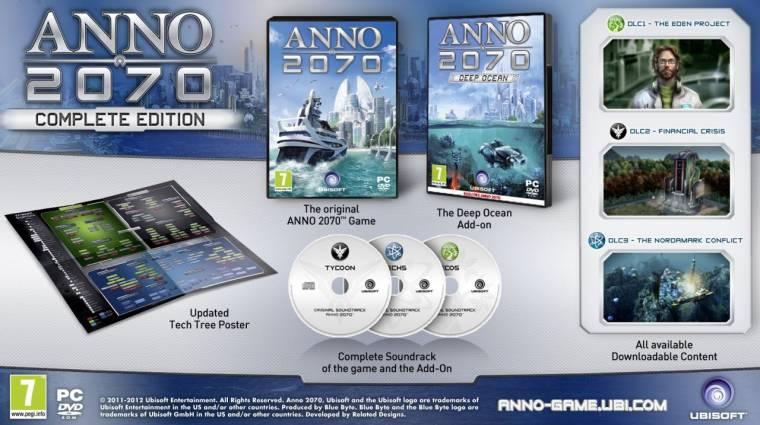 Anno 2070 Complete Edition - a teljes élmény kulcsa bevezetőkép
