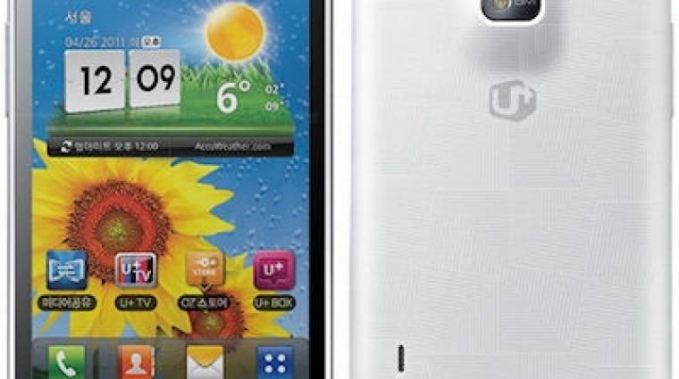 Az LG U+ bejelentette az Optimus Biget kép