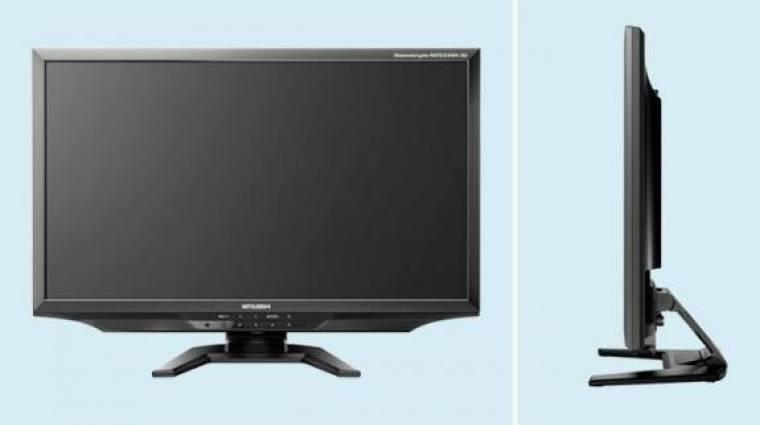 23 hüvelykes Mitsubishi 3D monitor nagy látószöggel kép