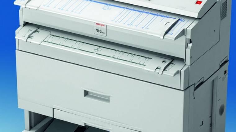 Színes szkennerel ellátott széles formátumú MFP a Ricoh-tól  kép