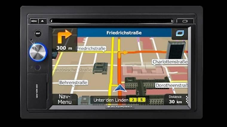 Beépíthető autós PNA a Blaupunkttól kép