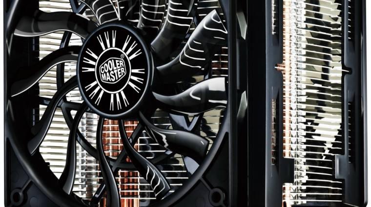 Hyper 412 Slim CPU-hűtő a Cooler Mastertől kép