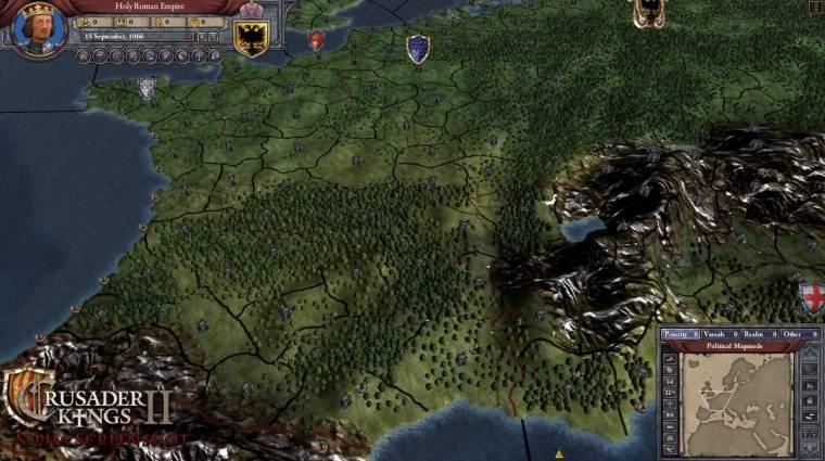 Crusader Kings II demo letölthető bevezetőkép