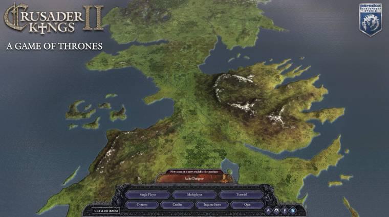 Crusader Kings II - Európa helyett irány Westeros és Középfölde! bevezetőkép