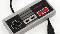 NES kontroller kinézetű USB drive kép