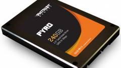 A Patriot bejelentette a Pyro névre hallgató SSD-jét kép