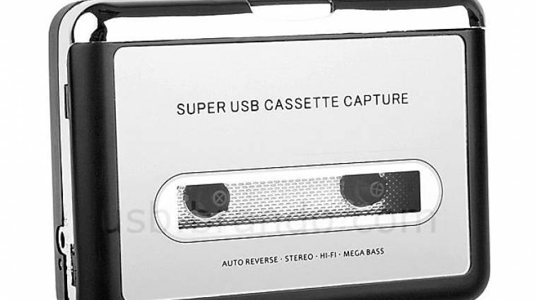 USB-s kazetta lejátszó, és konvertáló kép