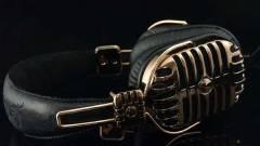 Vissza a jövőbe: Ötvenes éveket idéző fejhallgató kép