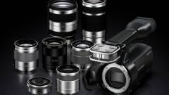 Cserélhető objektíves videokamera a Sony-tól kép