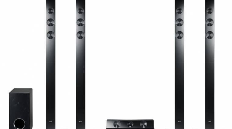 Az LG nem kispályázik: 3D 9.1 rendszer kép