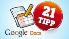 Google Dokumentumok: 21 Office-gyilkos trükk kép