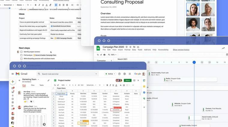 Szuper új funkciókkal bővül a Google Docs kép