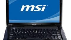 AMD E-450 APU lesz az MSI CR430-as notebookjában kép