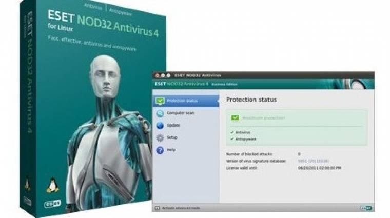 ESET NOD32 Antivirus for Linux kép