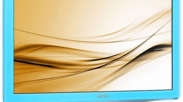 Új Philips monitor világító kávával kép