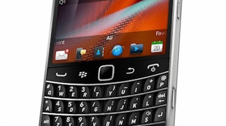 Hivatalos az első érintős Blackberry Bold kép