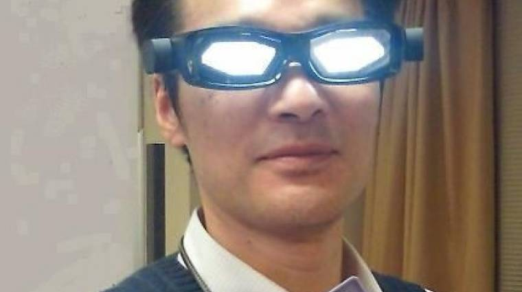 OLED-es szemüveg a Toshibától kép