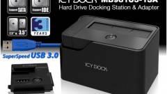 Icy Dock: USB 3.0-ás dokkoló mindenféle HDD-hez kép