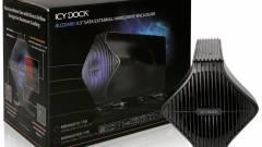 Kézzel szerelhető HDD-ház az Icy Docktól kép