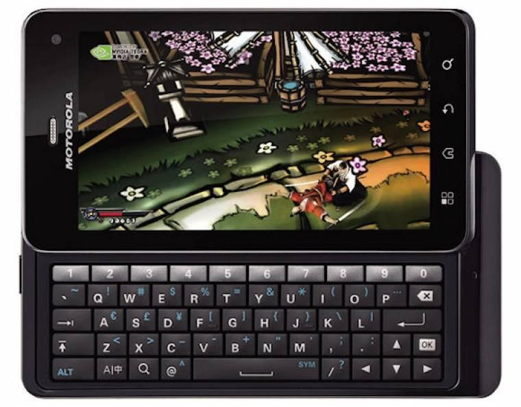 Motorola Milestone 3 (XT883)