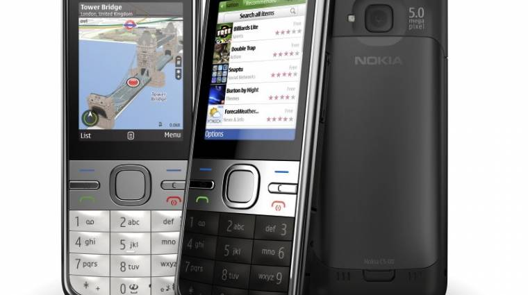 Csendben frissült a Nokia C5 kép