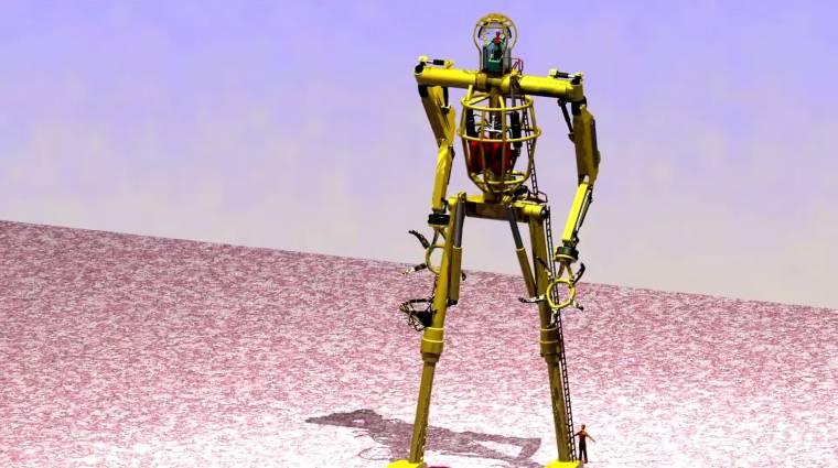 Hogyan lesz egy halott sáskából robot? kép