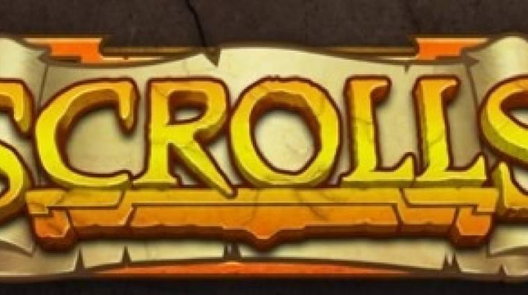 Scrolls - a megjelenéssel a Mojang a Minecraft stratégiáját követi.  bevezetőkép