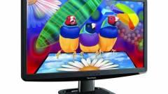 ViewSonic: 23 hüvelykes IPS-monitor, LED-es megvilágítással kép