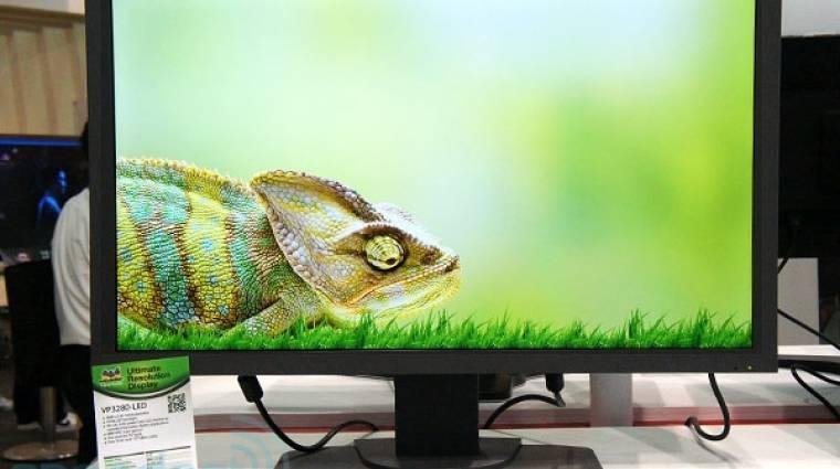 4K-s óriásmonitor a ViewSonic-tól kép