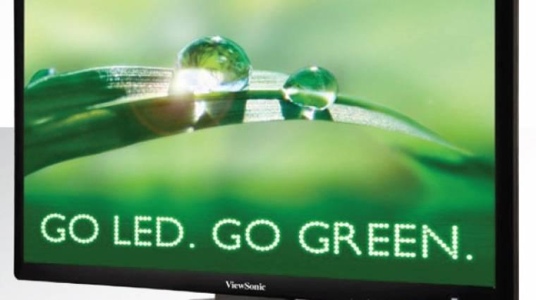 Energiatakarékos monitorral frissít a ViewSonic kép