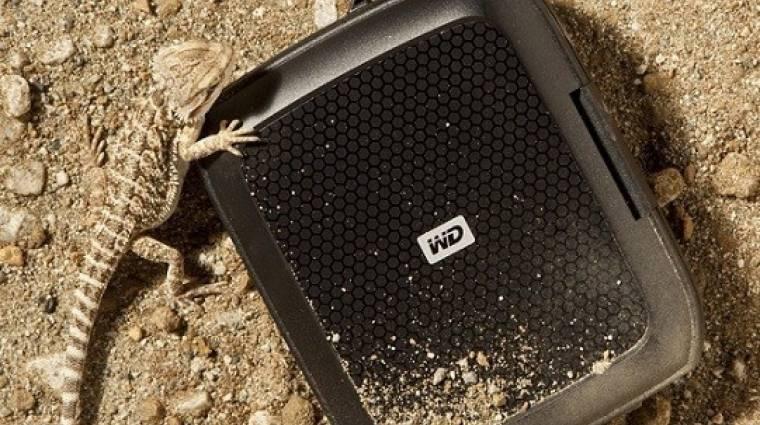 A Western Digital megvédi a külső HDD-t kép