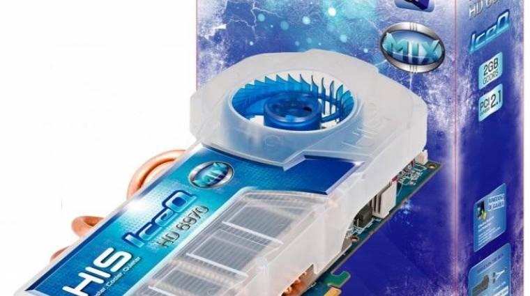 HIS Radeon HD 6970 IceQ Mix, akár NVIDIA kártyával kép