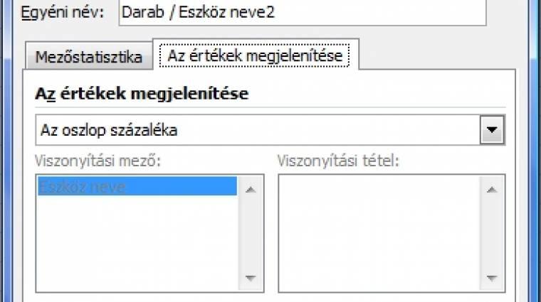 Excel-kisokos - Pivot táblák kép