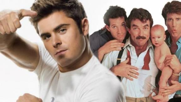 Három férfi és egy bébi remake készül Zac Efronnal a főszerepben kép