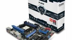 Pure Platinum A75 alaplap a Sapphire gyárából kép