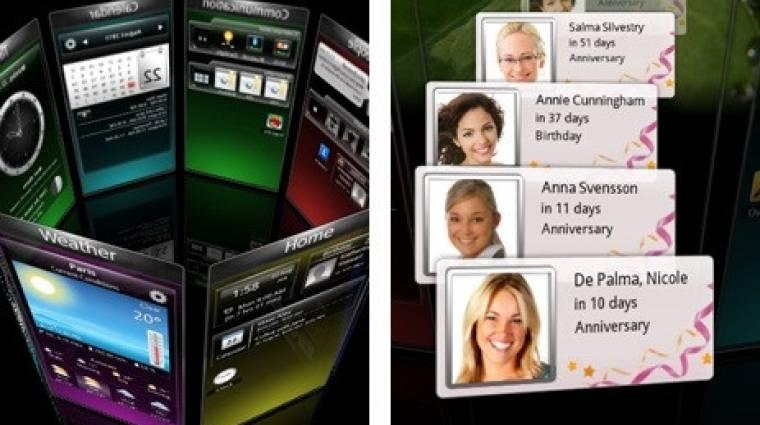 Symbianra is elérhető az SPB Shell 3D kép
