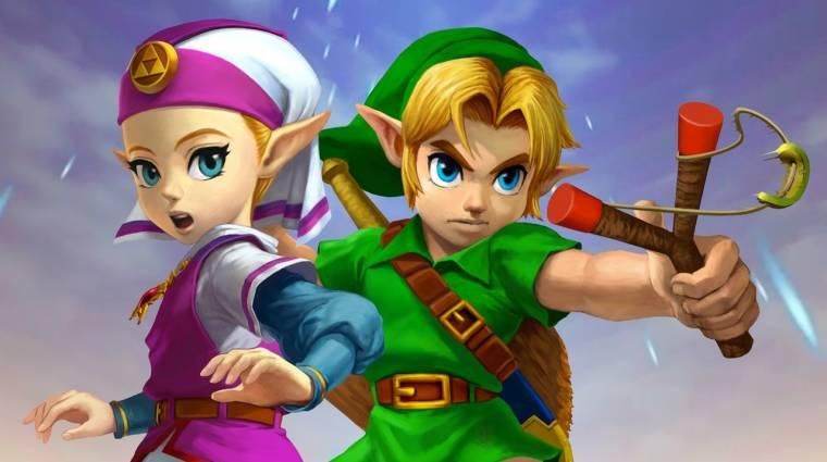 The Legend of Zelda: Ocarina of Time - már játszható az Unreal Engine-nel készült remake bevezetőkép