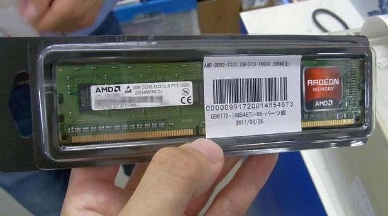 Radeon RAM-okkal vág a memóriapiacnak az AMD kép