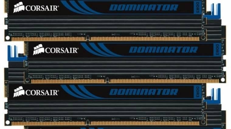32 GB-os, négycsatornás DDR3-1866 RAM-csomag a Corsairtől kép