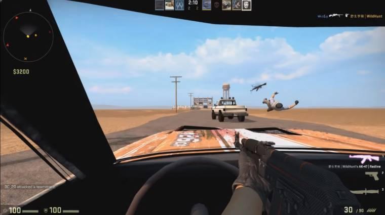 Autókból lövöldözhetünk a Counter-Strike: Global Offensive Mad Max modban (videó) bevezetőkép